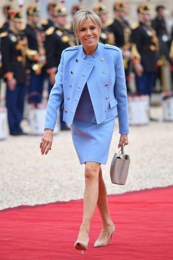 Macron wife nude