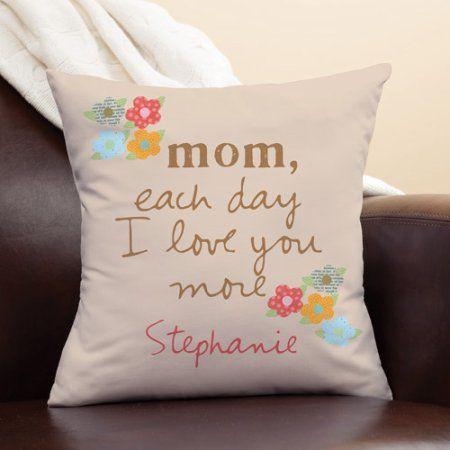 Personalized Sandra Magsamen Pillow For Mom, Multicolor