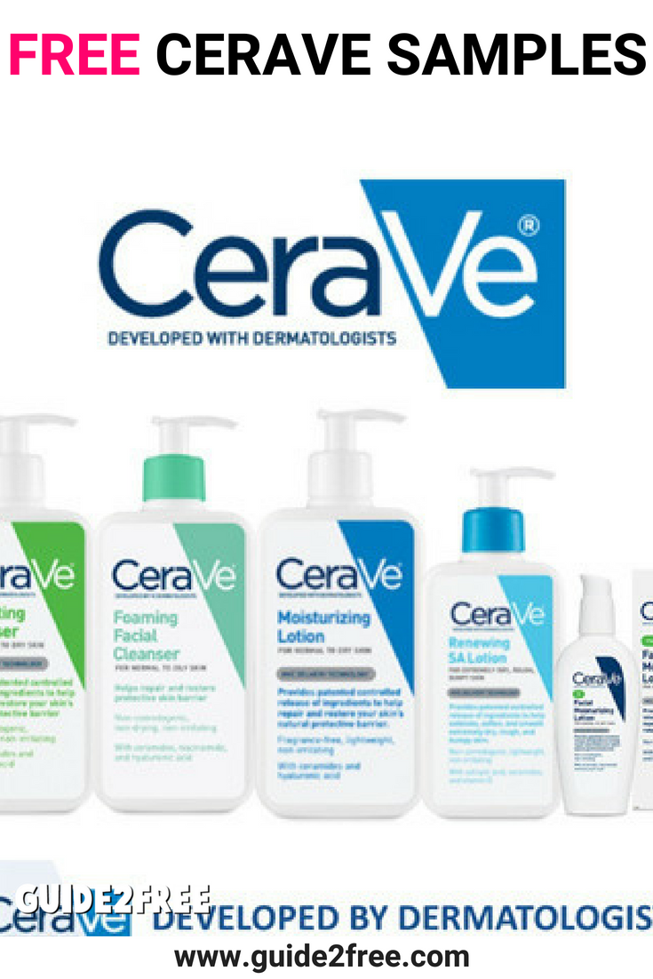 FREE CeraVe Samples Free stuff by mail, This or that