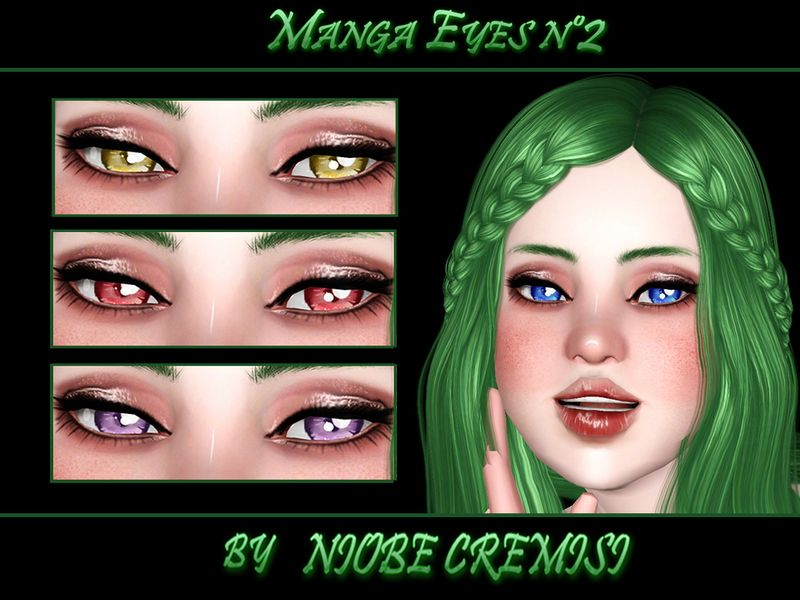 4 Channel recolorable Found in TSR Category 'Sims 3 Makeup Sets ...