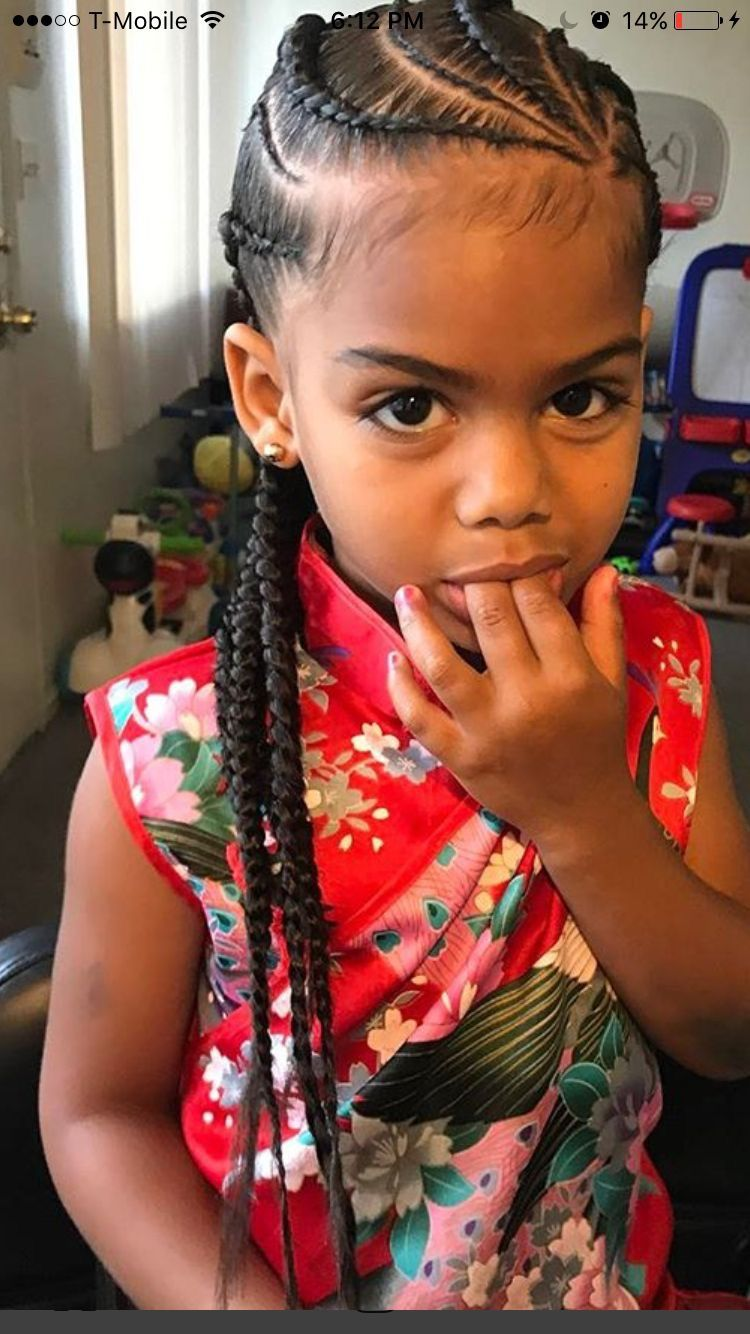 Braids little girl  Kids styles  Pinterest  Girls Girl
