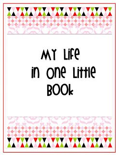 {My Life in One Little Book} Full  Printable Planner With Dividers. Comes  in 2 Colors !