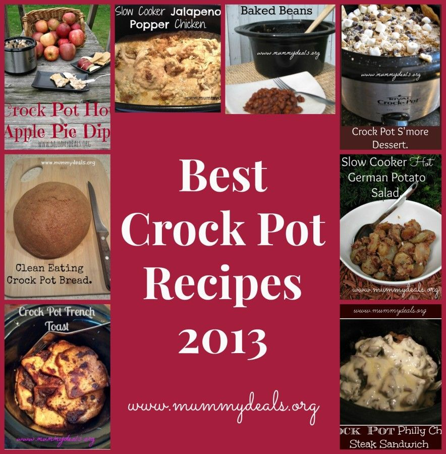 These are the Best Crock Pot Recipes from 2013 on #mummydeals according to repins and comments! Enjoy! #crockpot #slowcooker #recipes