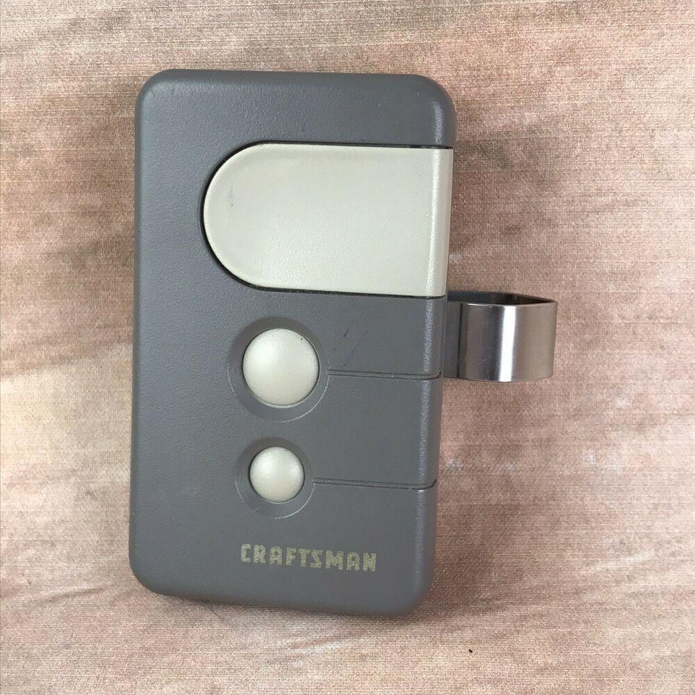 Craftsman 3 Button Green Learn Garage Door Remote Hbw1a5247 1021379 139 53879 Cra In 2020 Craftsman Garage Door Craftsman Garage Door Opener Garage Door Opener Remote