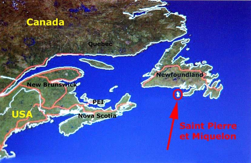 Youll also find a varity map of Saint Pierre and Miquelon such as