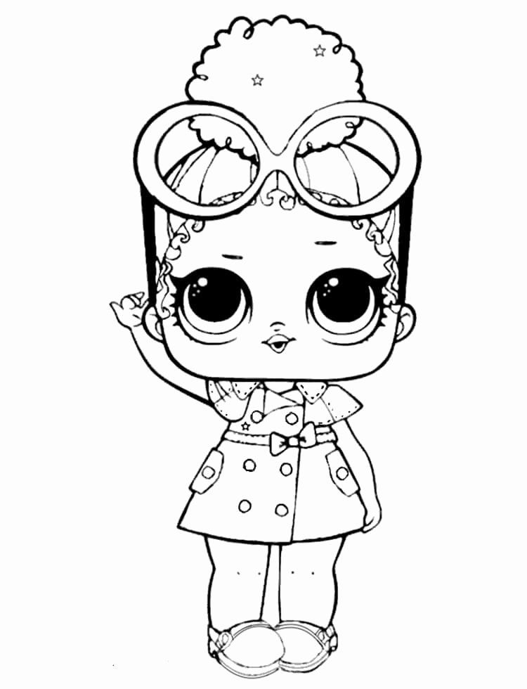 Lol Dolls Coloring Page Fresh Lol Coloring Pages Lol Dolls For Coloring And Painting Zoo Coloring Pages Cute Coloring Pages Coloring Pages