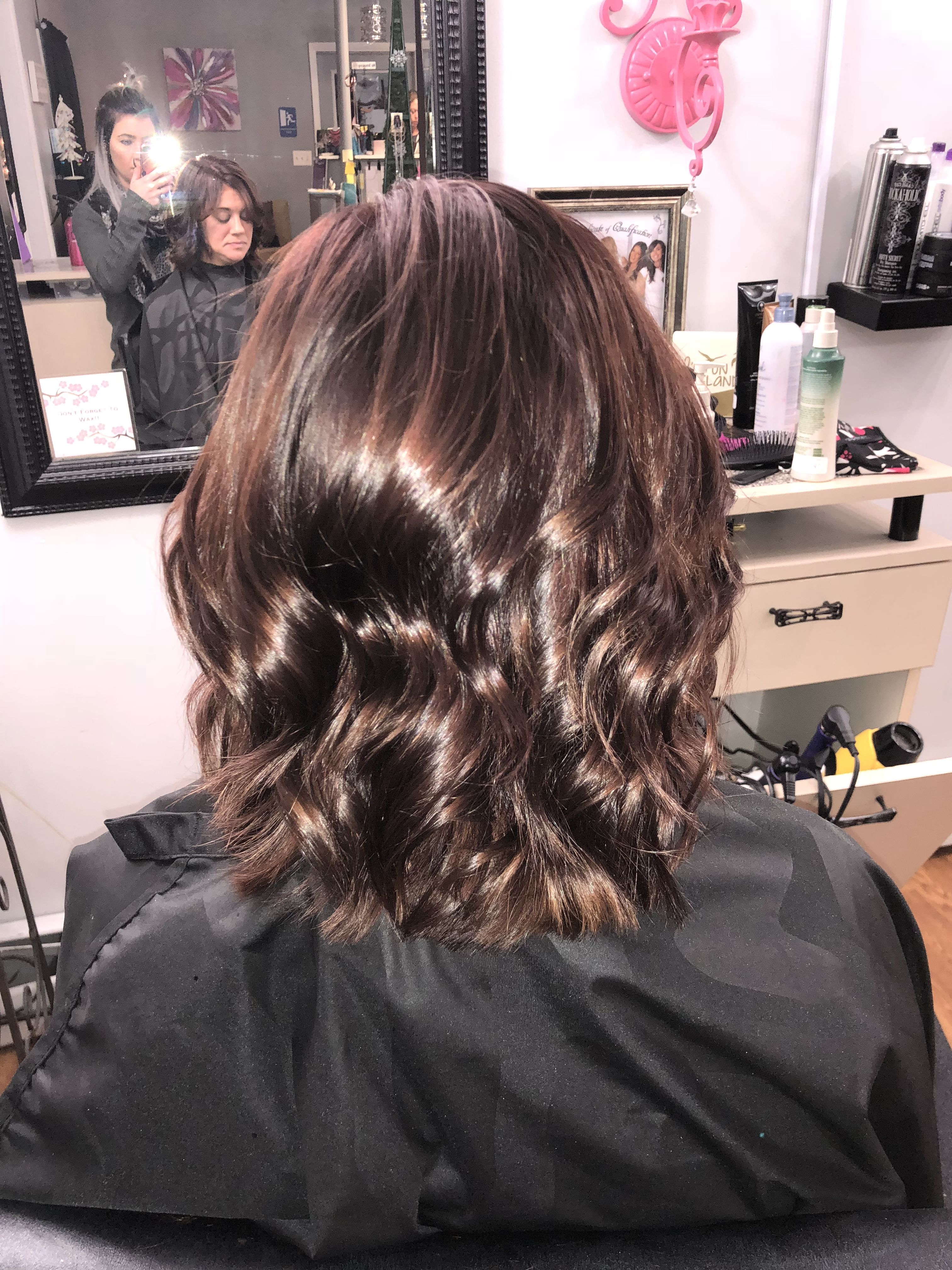 All Nutrient 5ch And 6rm Teasedhairandbodystudio Curls Chocolatehair Brownhair Mediumhair Allnutrient Medium Hair Styles Hair Long Hair Styles