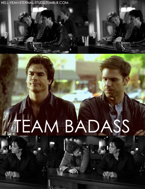I want to cry every time I see Alaric and Damon together. Saddest episode ever!