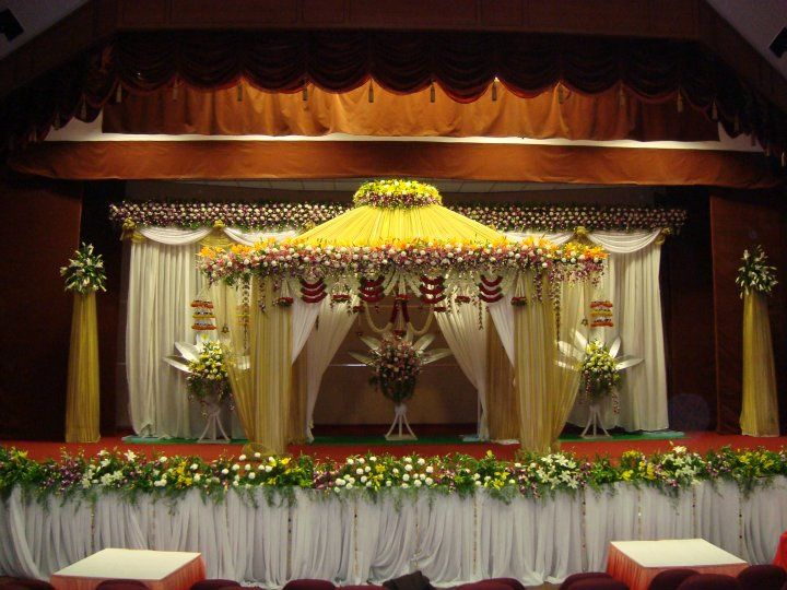 Wedding Stage Decoration Price : Bangalore stage decoration design wedding flower