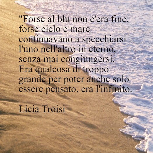 Mare Frasiinitaliano Frasi In Italiano Licia Troisi