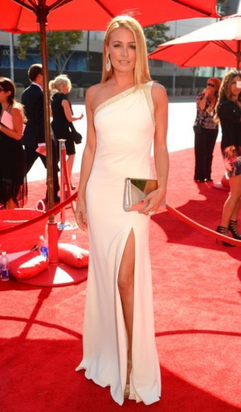 Cat Deeley at the Creative Arts #Emmy Awards 2013 in LA