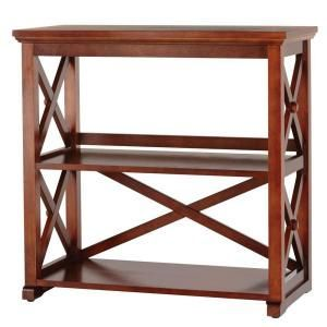Home Decorators Collection Brexley Chestnut 2-Shelf Bookcase AN-X2SB at The Home Depot  Mobile  - Shelf Bookcase - Ideas of Shelf Bookcase #ShelfBookcase
