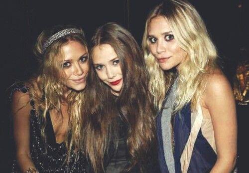Mary-Kate, Elizabeth & Ashley Olsen