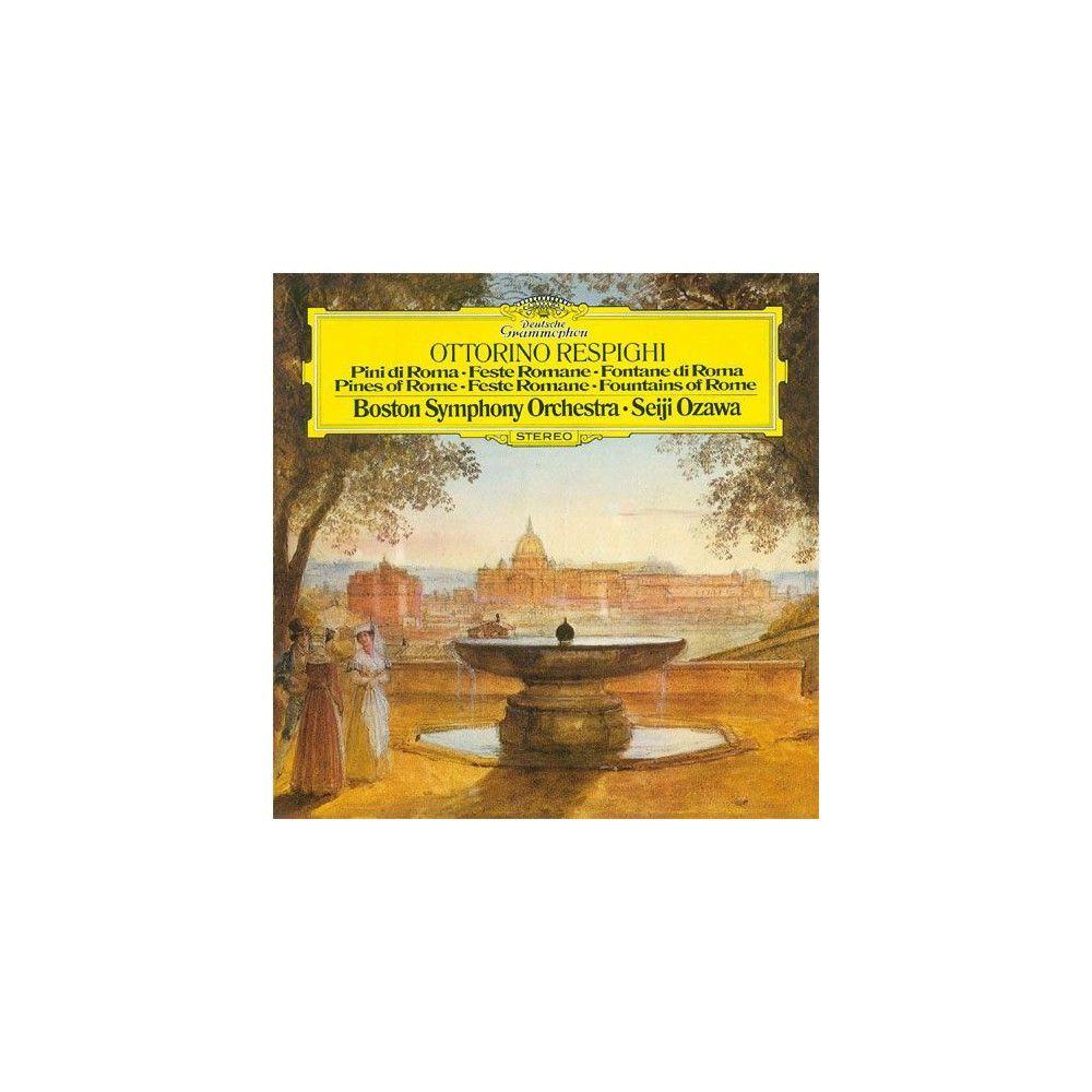 Boston Symphony Orchestra - Ottorino Respighi: Pini di Roma; Feste Romane; Fontane di Roma (Blu-Spec)