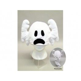 Berretto Cappello Animali FANTASMA Halloween peluche TU Adulti e Bambini