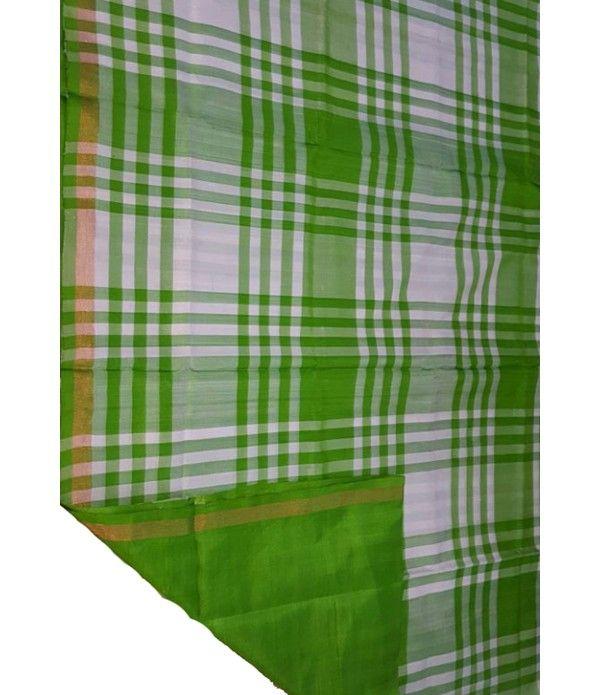 Green Handloom Upadda Silk Saree