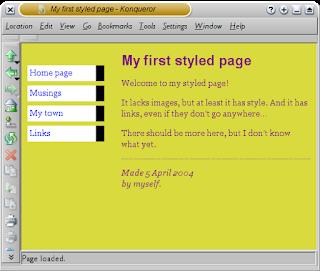 HTML Style Sheet - Ammu Tutorials - W3schools - TutorialsPoint