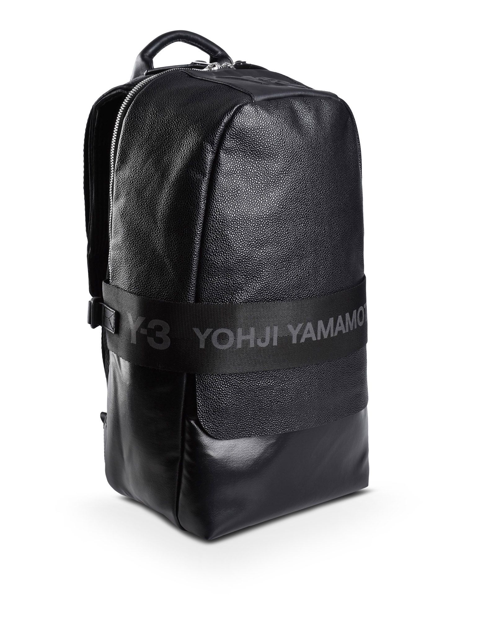 Y-3 QASA LEATHER BACKPACK BAGS unisex Y-3 adidas  02abe5272f384