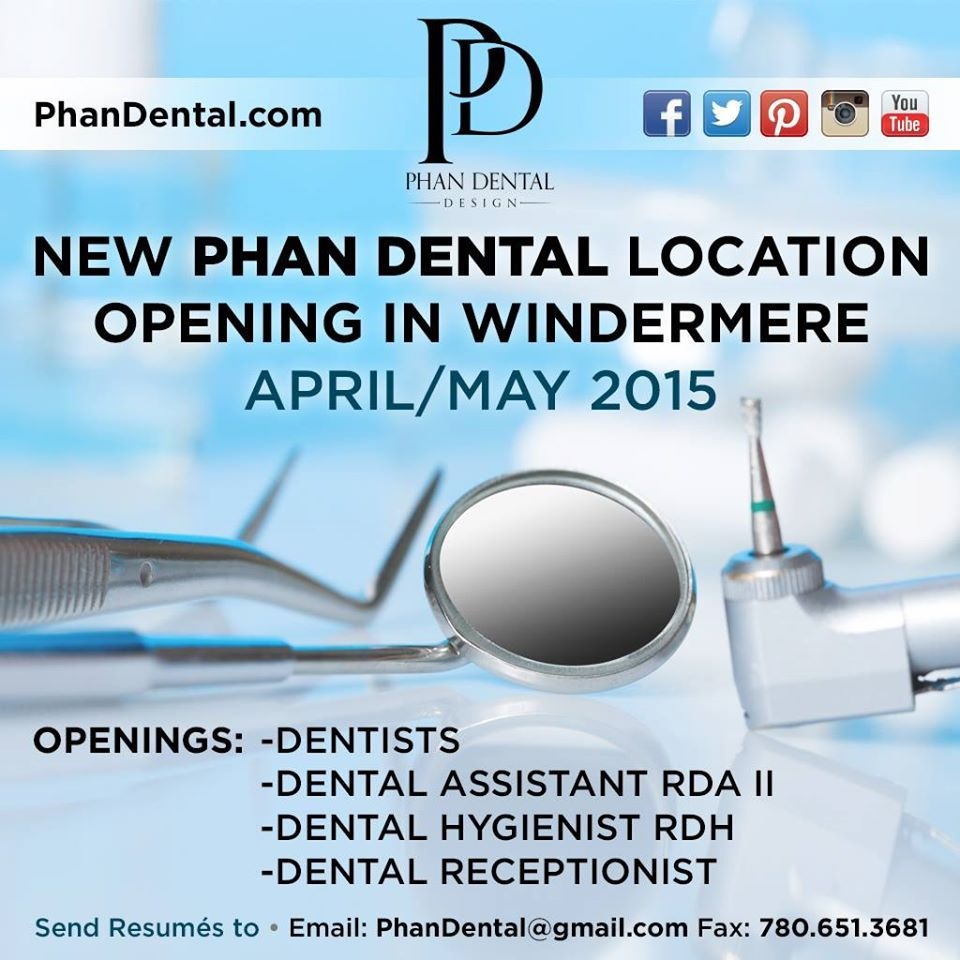 Phan Dental new location will be ready to go in late April