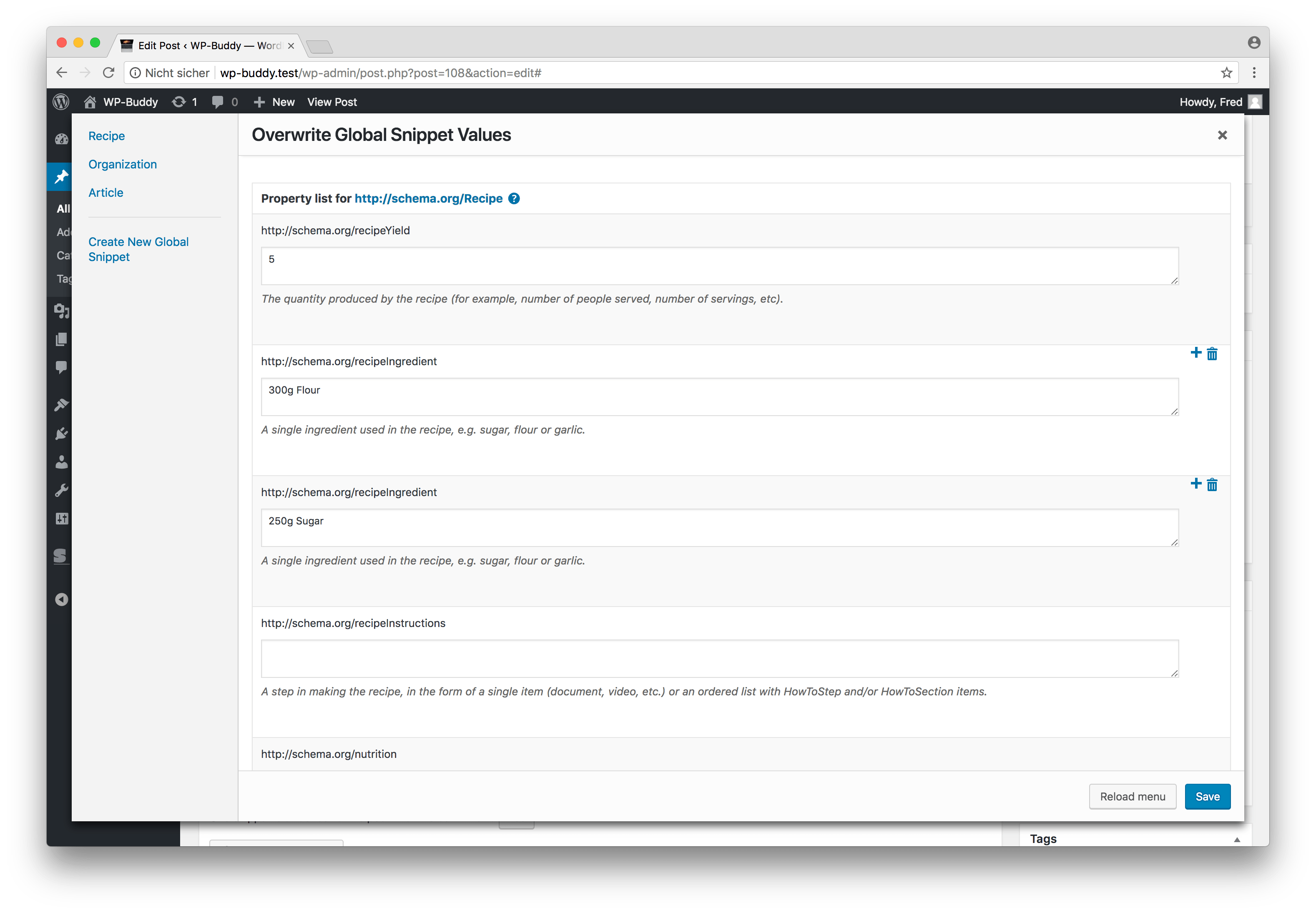 SNIP: Structured Data Plugin for WordPress | Business