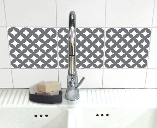 Fliesenaufkleber - 351 einzigartige Produkte bei DaWanda online - deko ideen badezimmer wandakzente