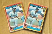 1990 Topps Frank Thomas No Name On Front Nnof Rookie Card Rc