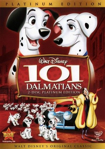 101 Dalmatians 1961 Disney Movies By Year Disney Animated Movies Best Disney Animated Movies