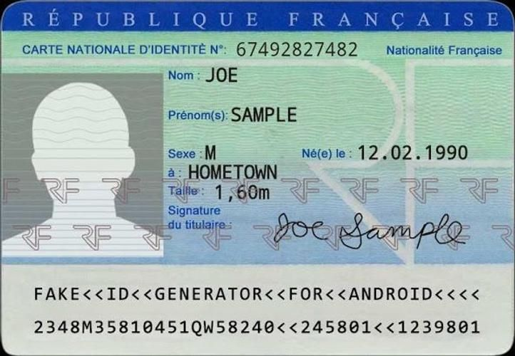 Download fake id card maker pro latest 110 android apk
