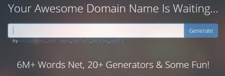 Domain Name Suggestions