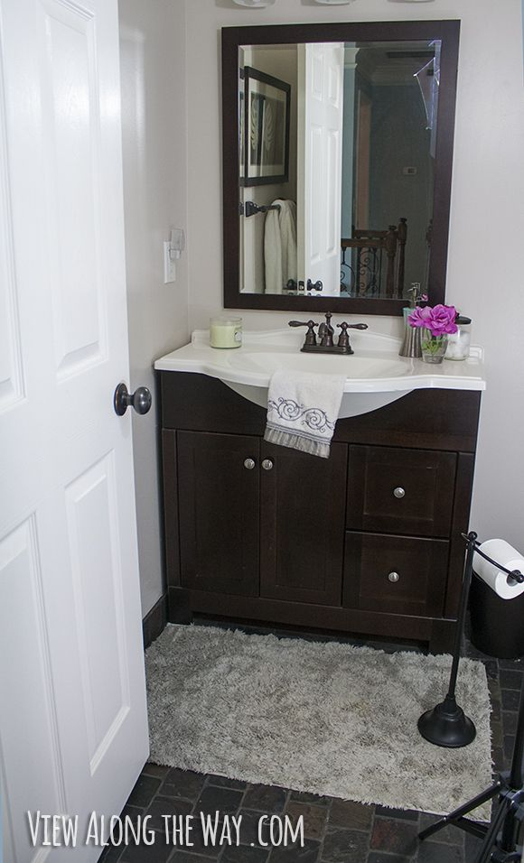 Easy Steps To A Luxury Guest Bathroom On A Budget A Giveaway - Luxury guest bathroom designs