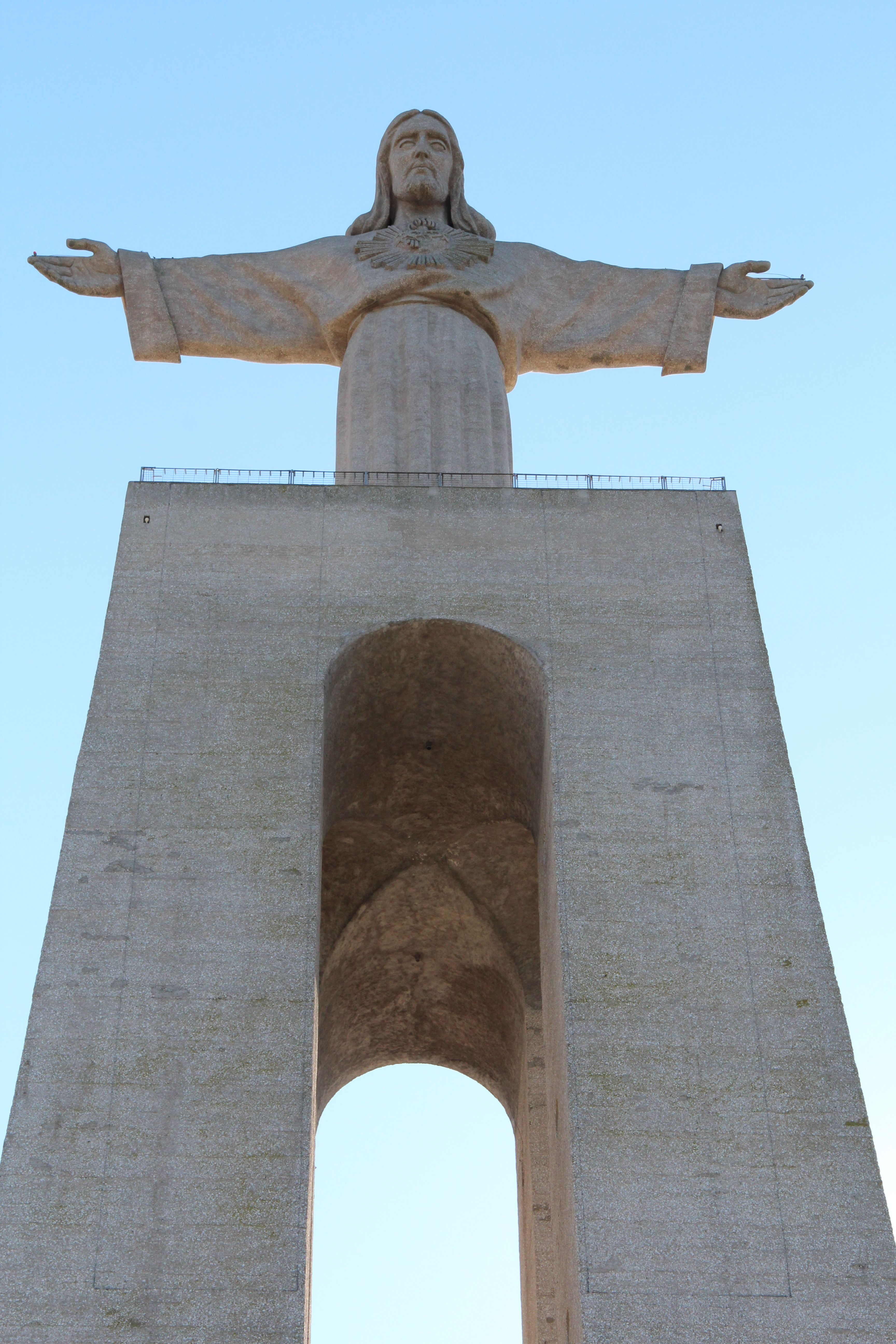 Cristo rei christ the king lisbon portugal its dedicated to the statue of christ symbol of portugals capital biocorpaavc