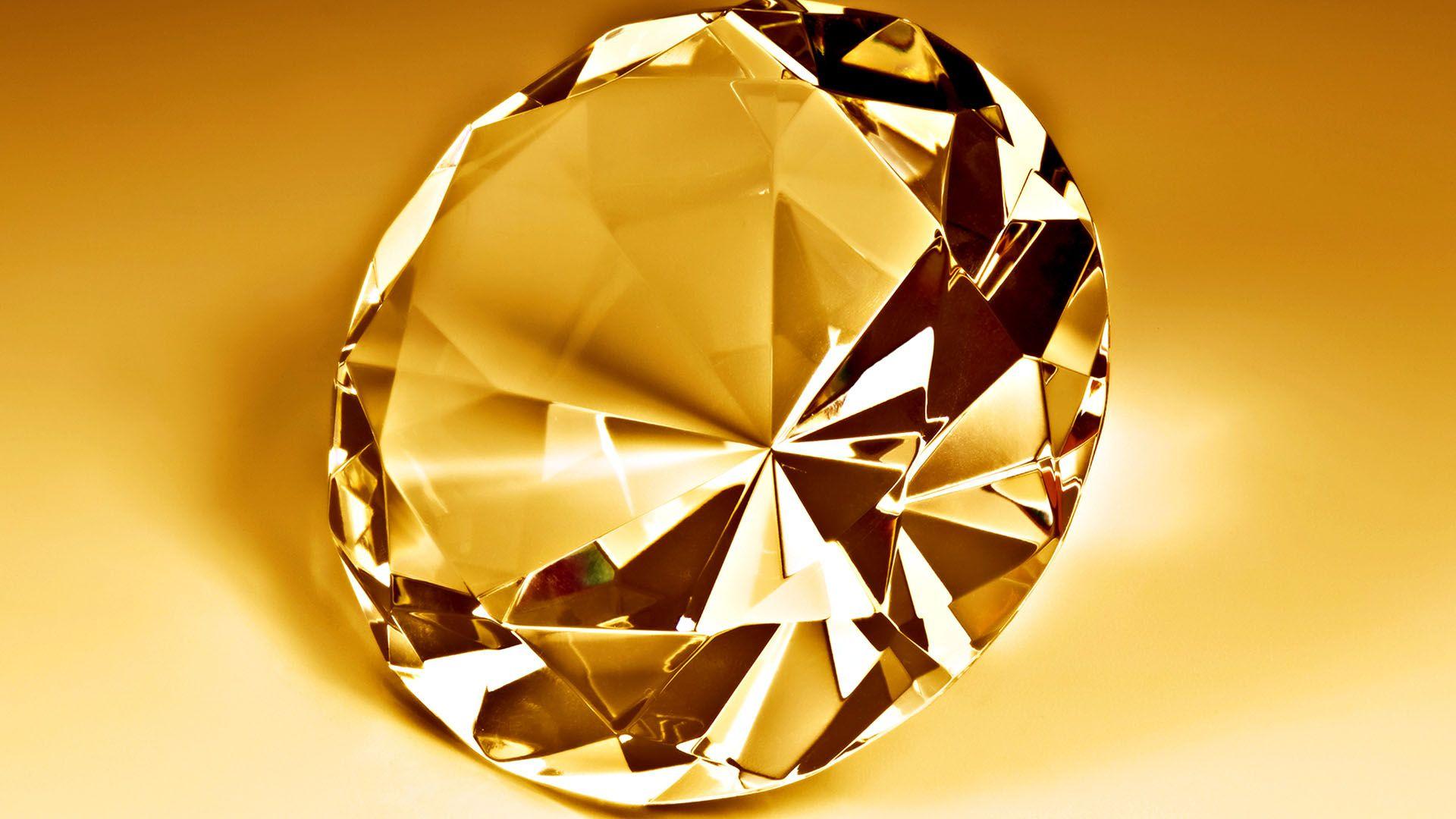 3D Diamond Gold Wallpapers HD Richness Pinterest Gold