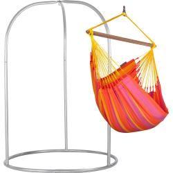 Photo of Sonrisa Mandarine – Hengekøye stol Basic med pulverlakkert stålramme La Siesta