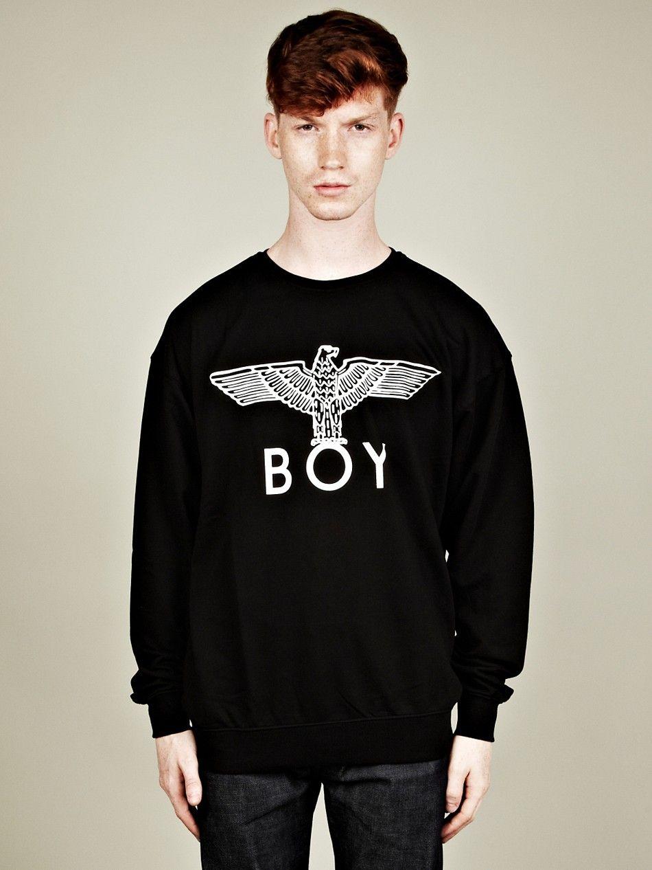 Boy London Boy Eagle Sweatshirt Long Sleeve Tshirt Men Mens Tops Sweatshirts [ 1266 x 950 Pixel ]