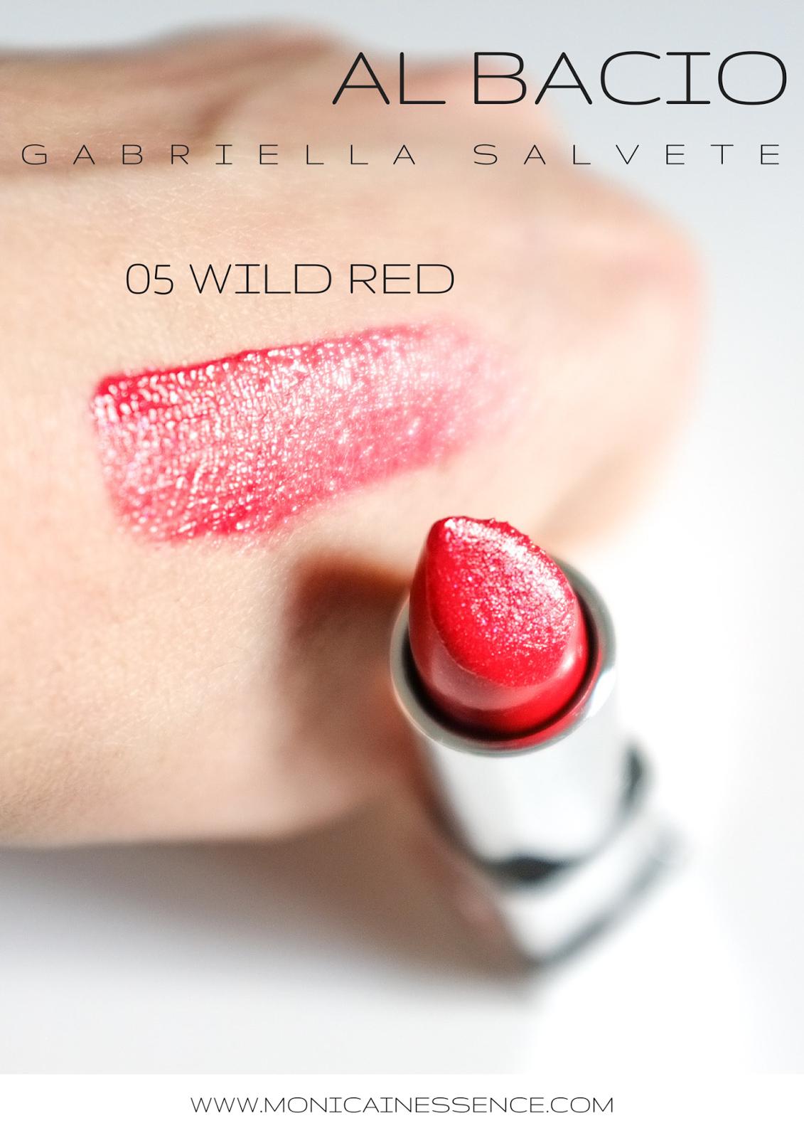 GABRIELLA SALVETE AL BACIO lipstick 05 WILD RED
