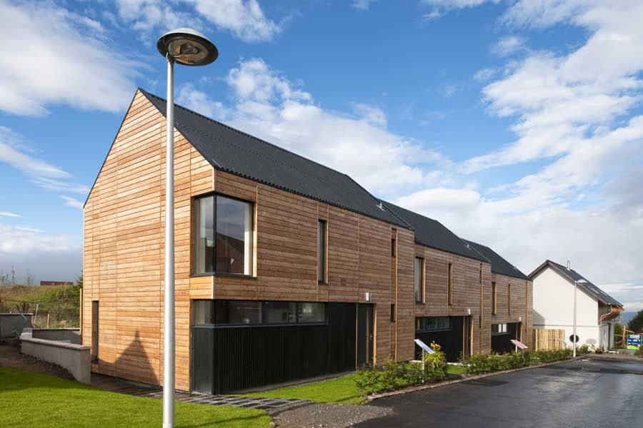 small scale housing development in association with sfha the