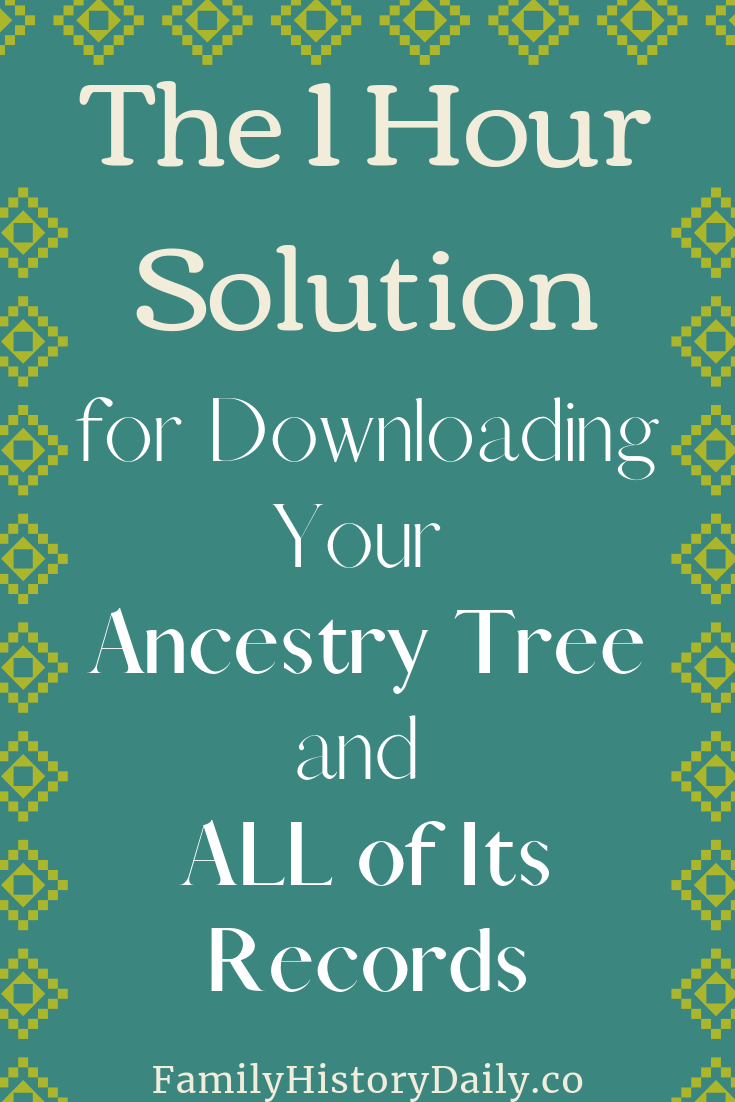 Back Up and Sync Your Ancestry Family Tree with RootsMagic TreeShare #genealogy