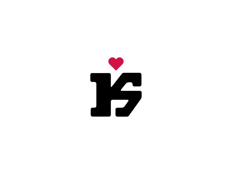 Ks Monogram Musical Logo Design Love Logo Letter Logo Design
