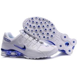 www.asneakers4u.com 325201 013 Nike Shox NZ White Blue J04026