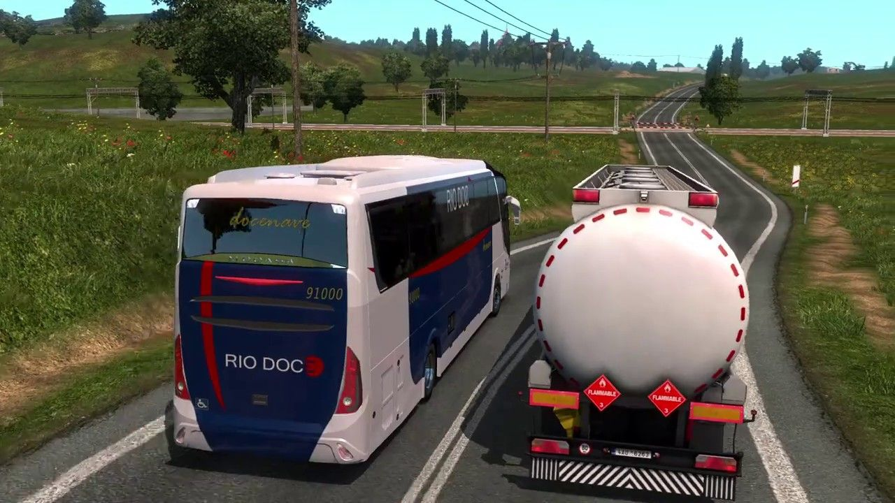 How To Get Bus In Euro Truck Simulator 2