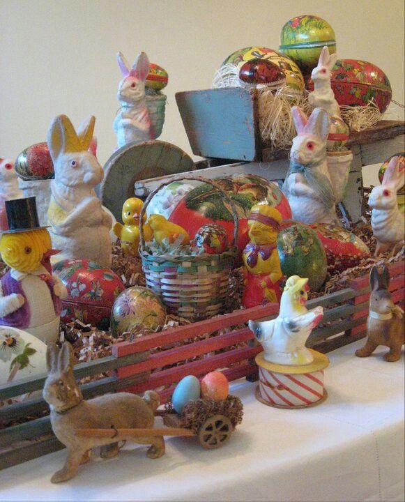 Antique And Vintage Easter Collection Vintage Easter Easter