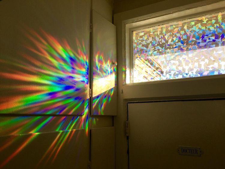Rainbow Window Sticker From Amazon Decorative Window Film