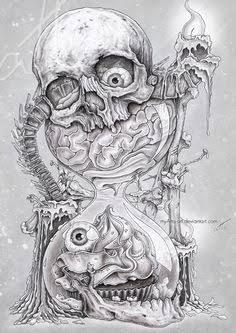 Image Result For New School Tattoo Sleeve Sketches Skull Art Tattoo Design Drawings Skulls Drawing