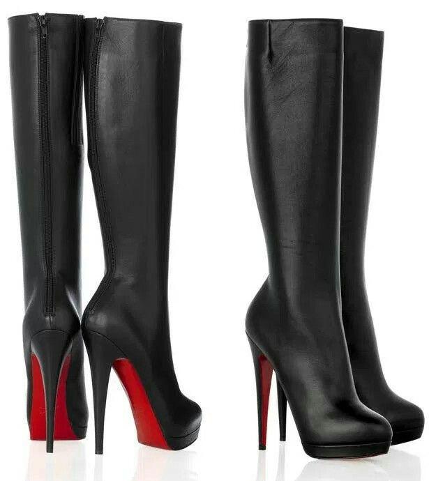 86c970d36a bota cano longo salto fino  boot pipe long thin heel