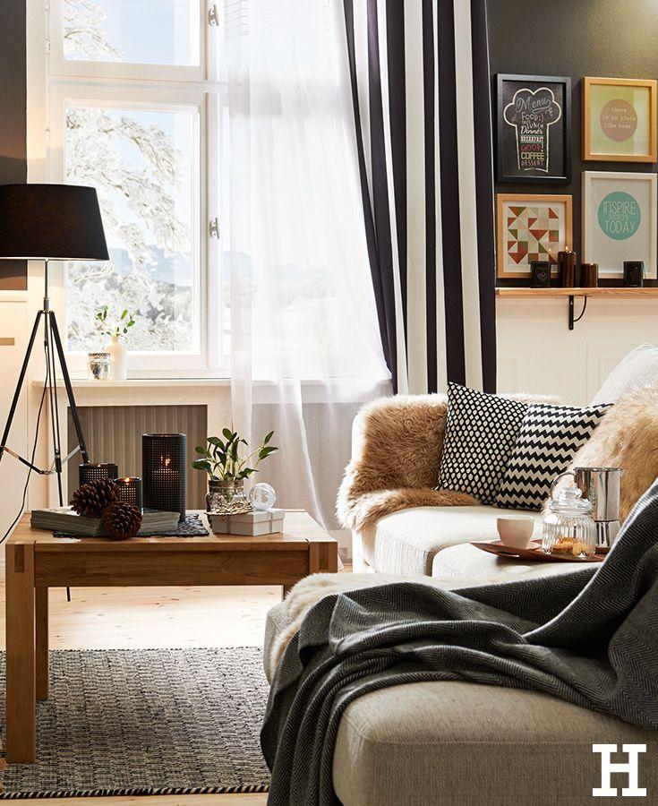 Hygge Vibes im Wohnzimmer. #meinhöffi | Wohnzimmermöbel ...