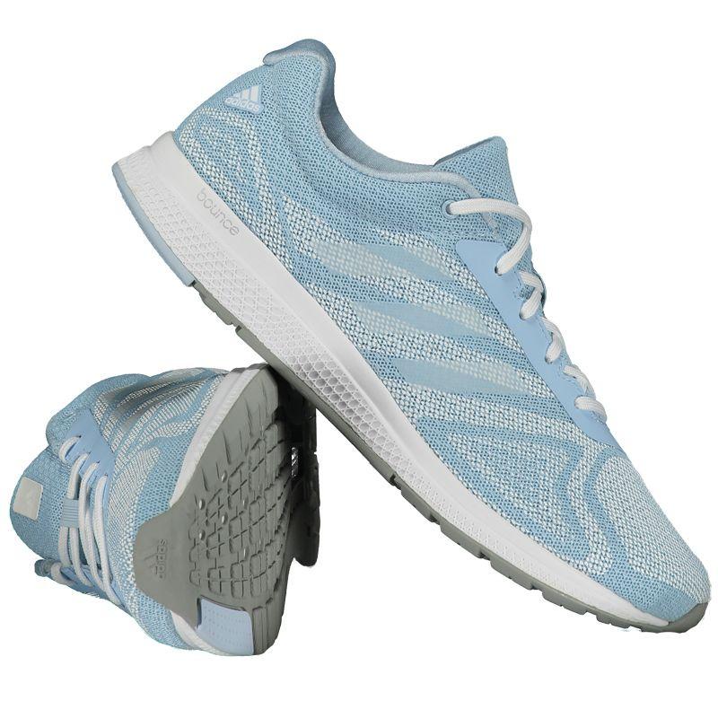 Tênis Adidas Mana Bounce Feminino Azul Somente na FutFanatics você compra  agora Tênis Adidas Mana Bounce 84211535ddc