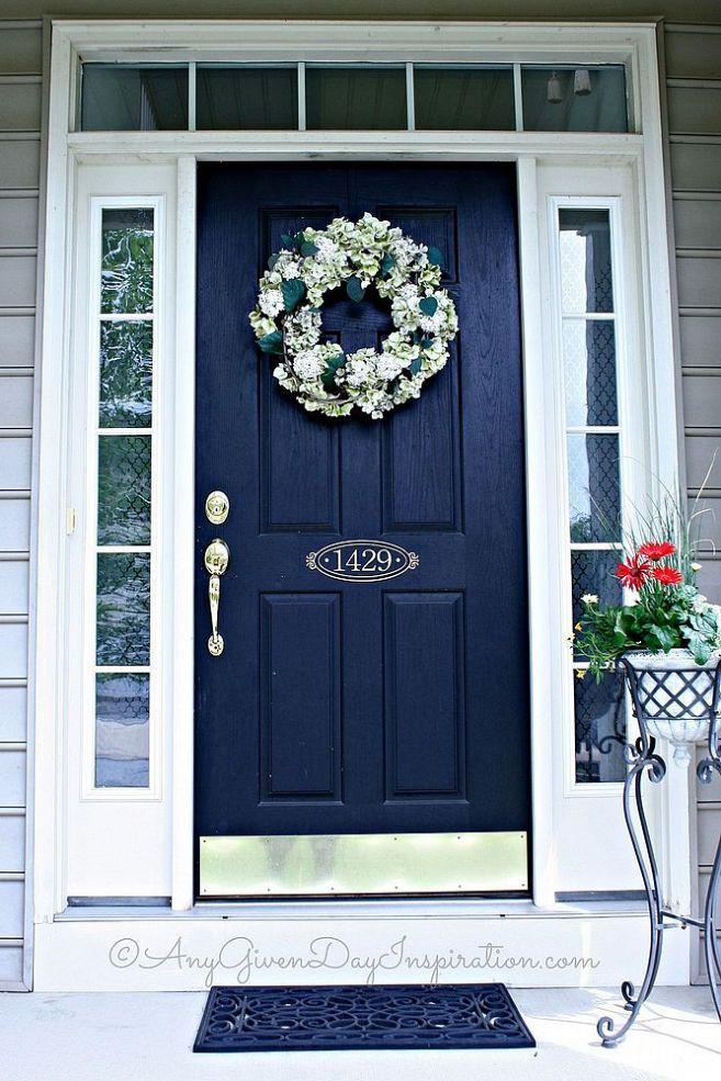 Diy Custom Sidelights Using Frosted Vinyl Painted Front Doors Best Front Doors Door Paint Colors