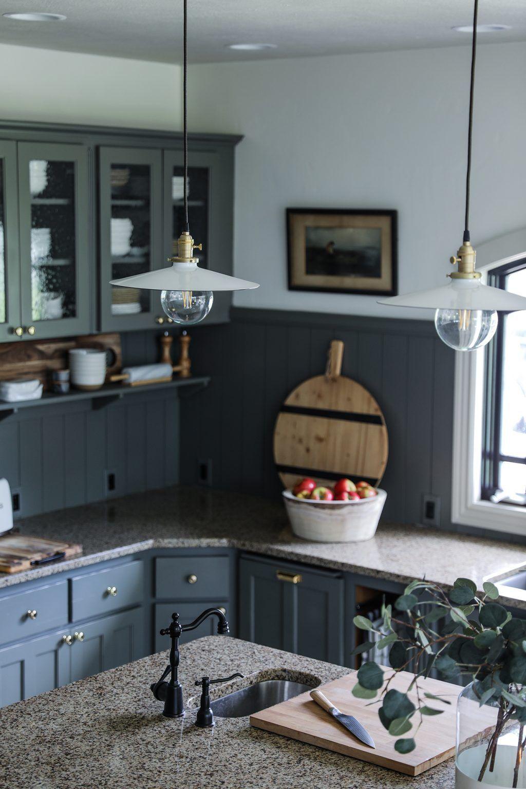 Unsere Modern Cottage Kitchen Makeover (günstig