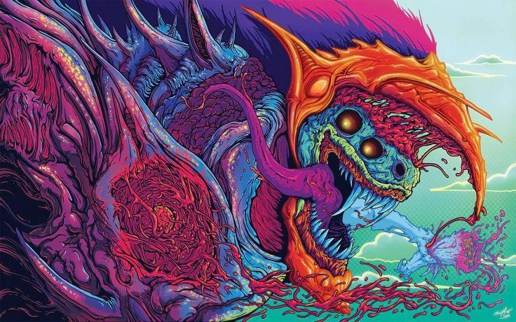 fantasy art artwork monster creature