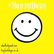UK / Linky / #HappyDaysLinky / Sat - Wed / Weekly /  @WhatKatySaidUK + @_tinyfootsteps